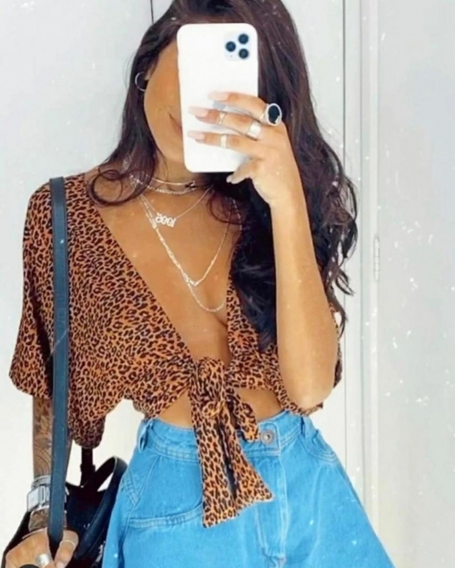 CROPPED MULTI ONCINHA