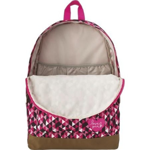 Mochila de Costas Plus Love Pink Tilibra