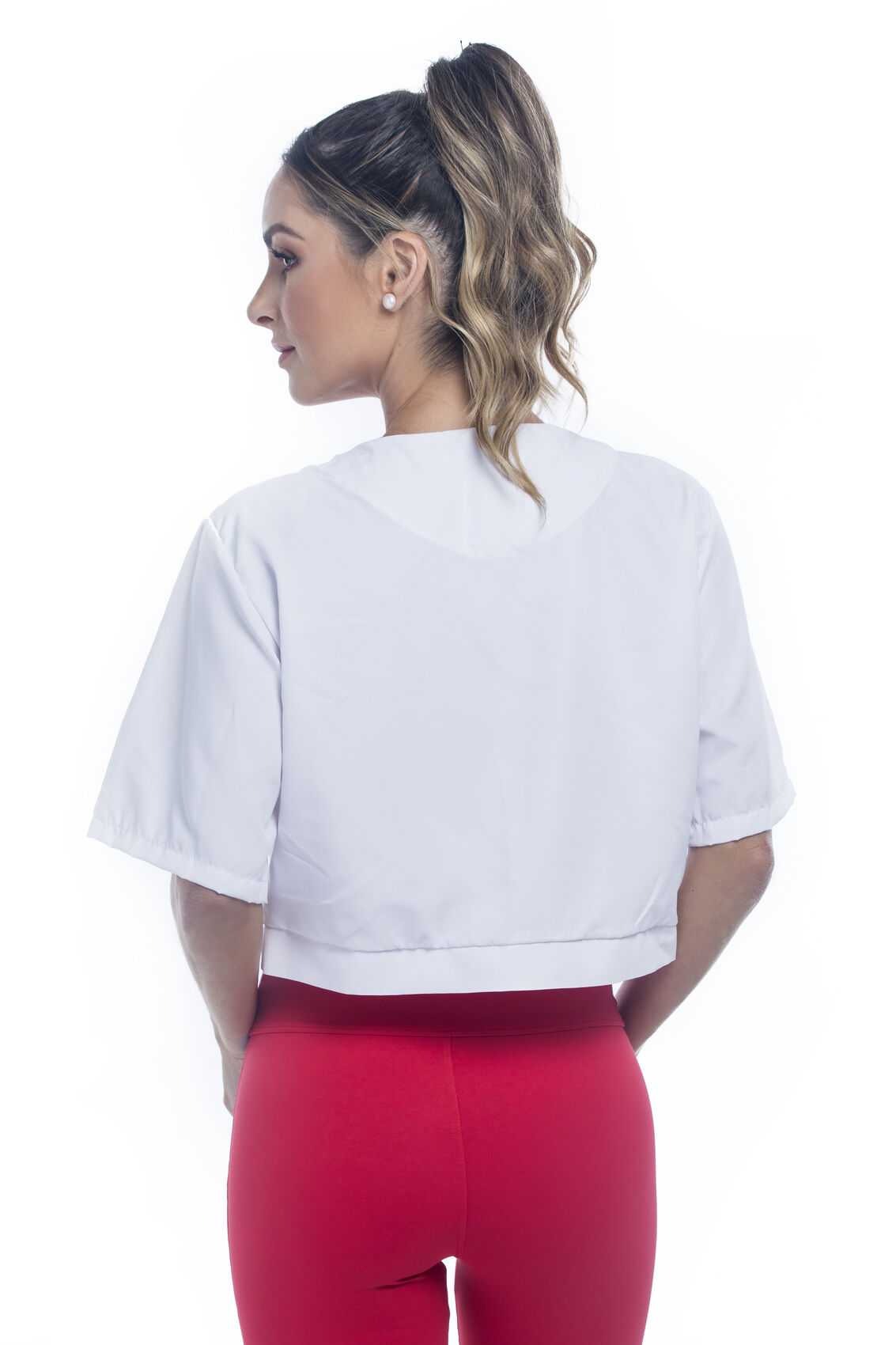 CASACO CROPPED TACTEL BEAT