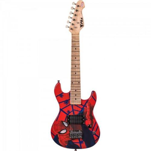 Guitarra Infantil Marvel GMS-K1 Spider-Man PHX