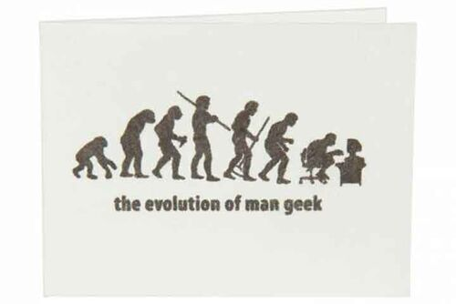 Carteira | The evolution of man geek - Branco