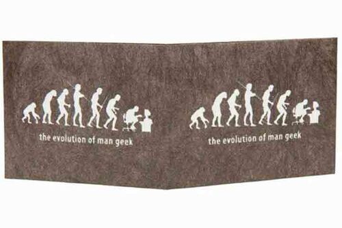 Carteira | The evolution of man geek - Preto