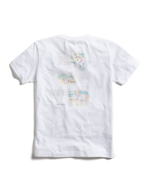 T-SHIRT BEACH DOG KIDS