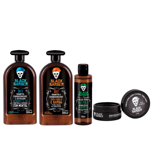 Kit Muriel black barber