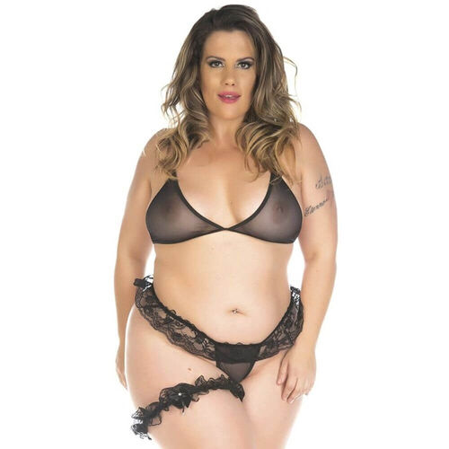 Mini Conjunto Sensual Plus Size