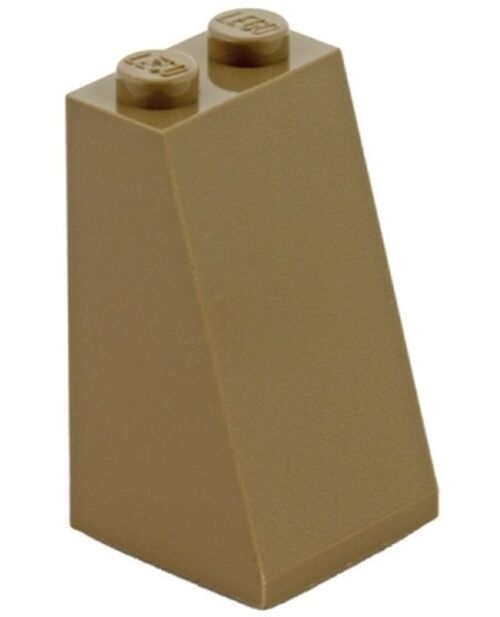 Lego Slope 75° 2x2x3 - Bege Escuro - PN 3684 / 30499 / 98560 / CN 6000852 / 4613790 / 4530677