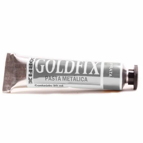 Pasta Metálica Goldfix - Gold Fix - 20ml - 240 - Prata