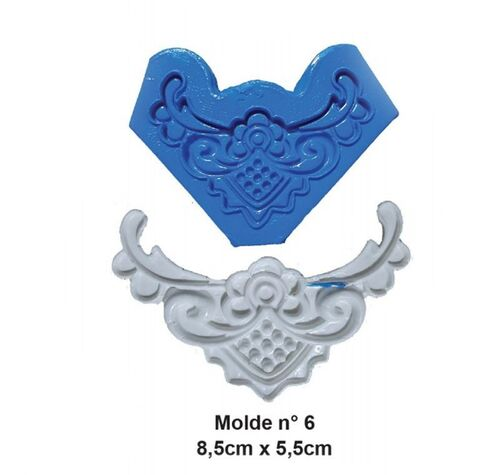 Molde de Silicone - Craft Make - Número 6