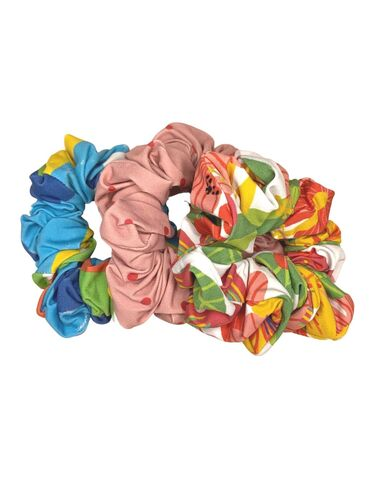 Kit 2 Scrunchies Estrada
