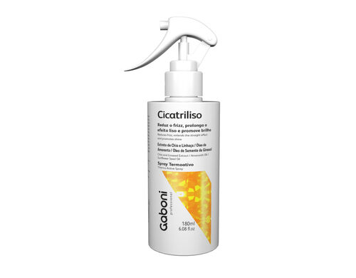 Spray Pós Progressiva Hidratante Antifrizz Cicatriliso 180ml