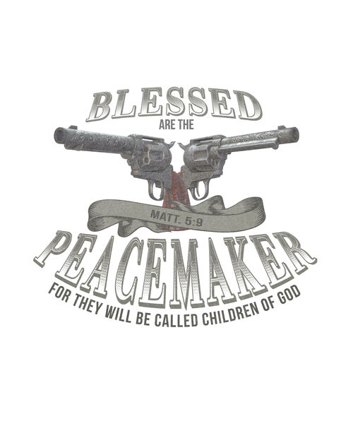 Camiseta SocaPorva Blessed Are The Peacemaker