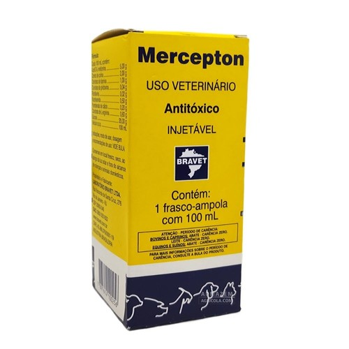 Mercepton Injetavel 100 mL