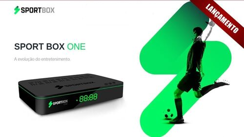 Receptor Sportbox One 4K Full HD Wi-Fi ACM
