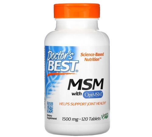 MSM 1500 mg - Doctor´s Best - 120 Tablets