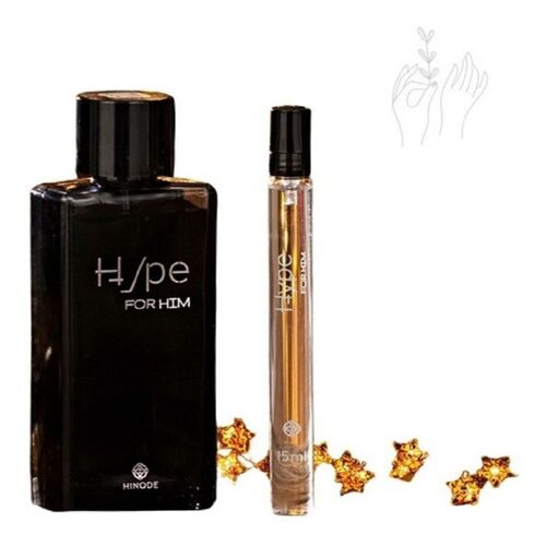 Kit Deo Colonia Masculina Hype For Him 100ML + Pocket 15ML