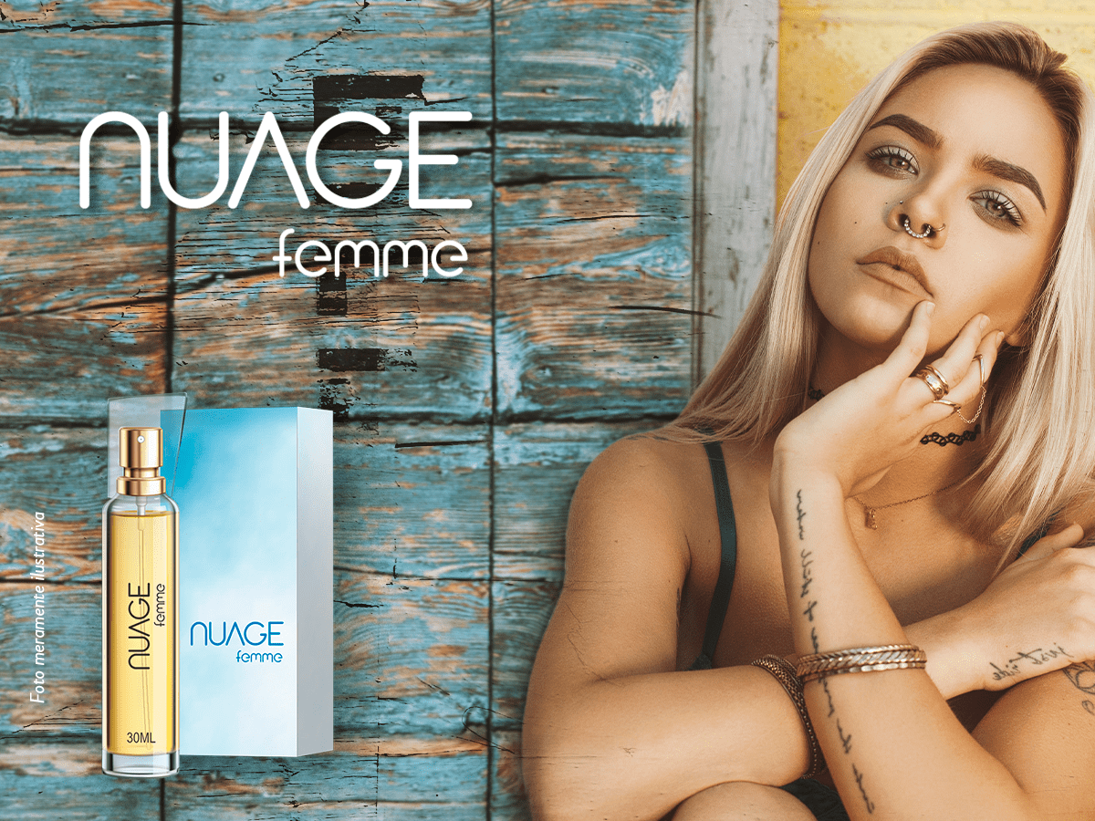 Nuage Femme - Deo Colonia