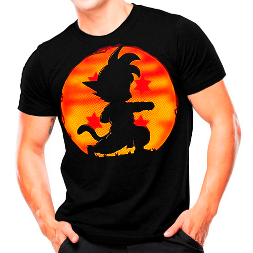 Camisa Estampada Son Goku T-shirt
