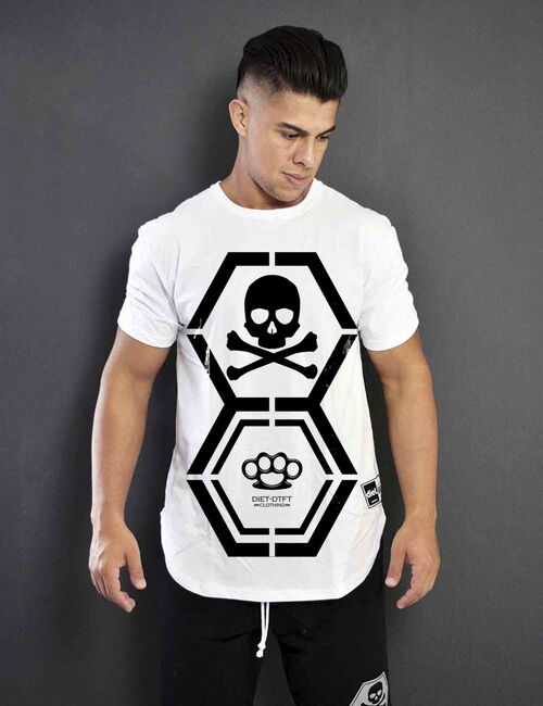 Camiseta Masculina Dna Diet T-shirt Branca