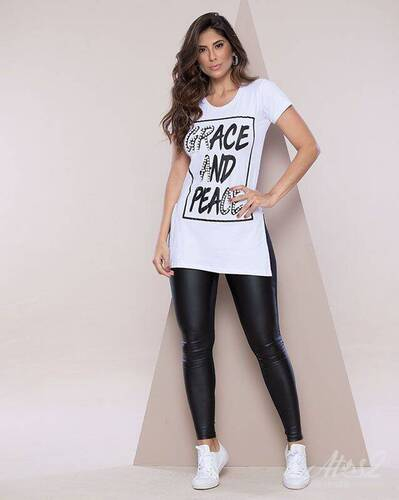 Camiseta Feminina grace and peace REF 5275