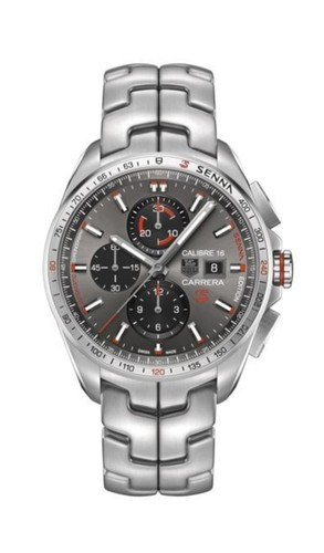 TAG Heuer Carrera Calibre 16 Ayrton Senna Chronograph 44 mm