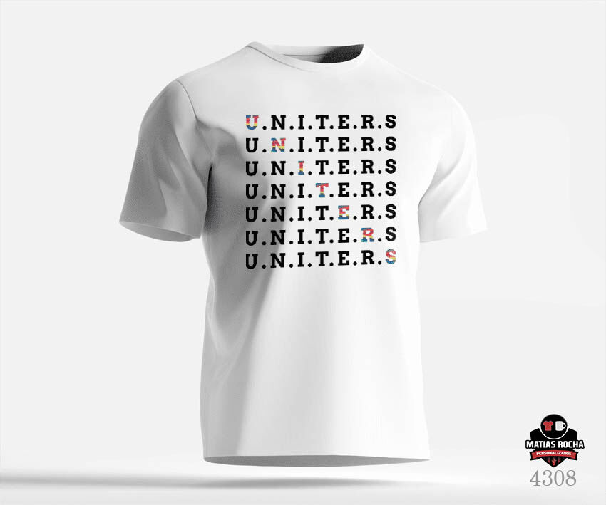 Camiseta personalizada Now United