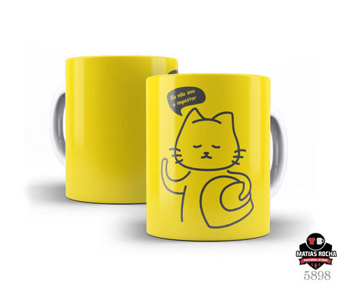 Caneca Branca Games Amoung Us
