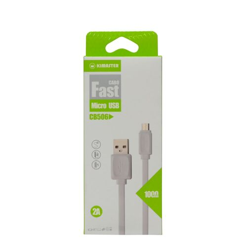 Cabo Flat Micro USB V8 Fast Charge