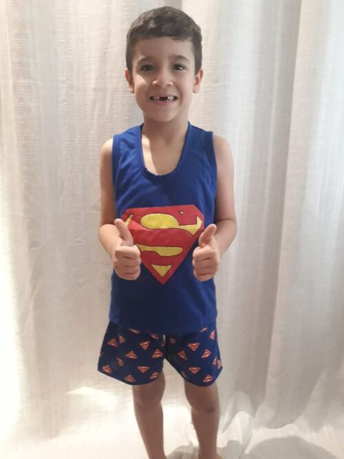 Pijama Infantil Regata Super Man
