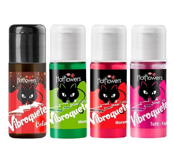 Vibroquete 12ml Hot Flowers Sabores