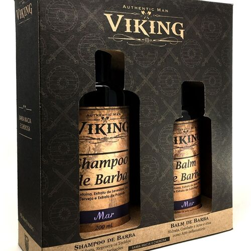 Kit Shampoo e Balm - Mar - Viking