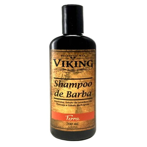 Shampoo de Barba - Terra - Viking 200 mL