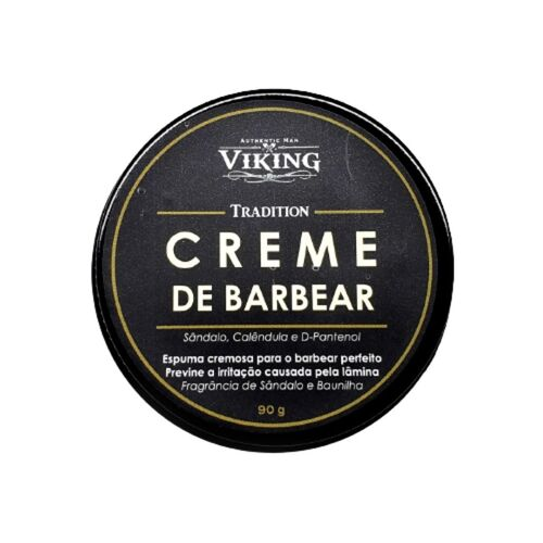 Creme de Barbear - Tradition - Viking 90g
