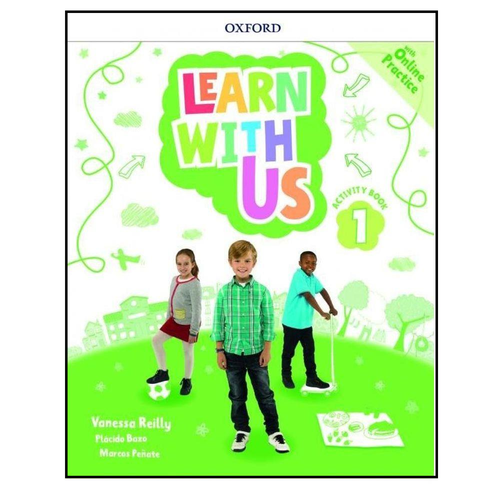 Learn With Us 1 Activity Book With Online Practice - Oxford