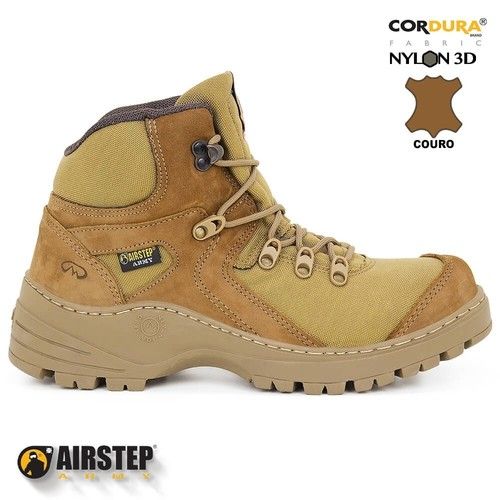 Bota Short Barrel 8900-35 - Coyote - Airstep
