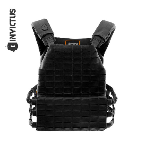 Colete Plate Carrier Apolo - Preto - Invictus
