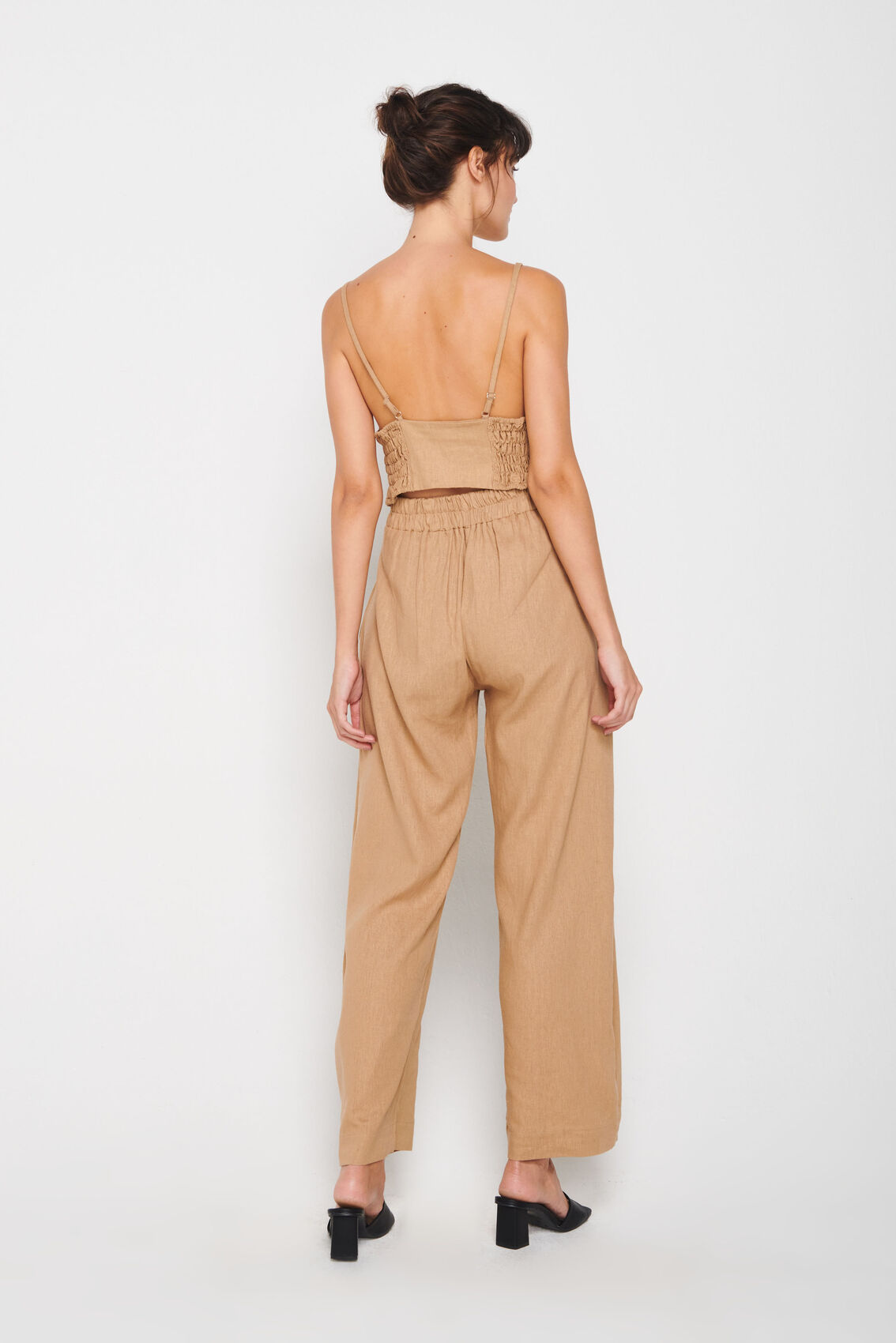 Cropped Triângulo Fashion Flax