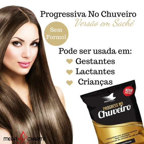 Alise Hair Progressiva No Chuveiro Sachê 50ml