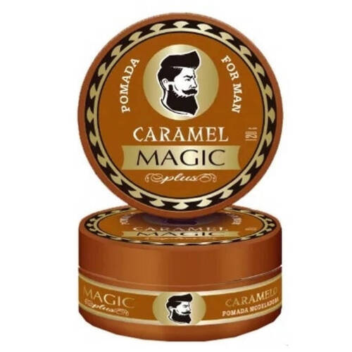 Magic Plus Pomada Modeladora Caramel 120gr