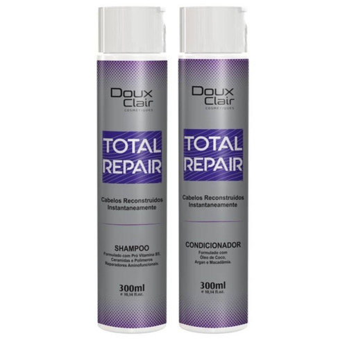 Doux Clair Total Repair Sh + Cond Reconstrutor