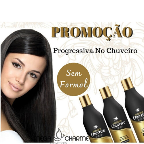 Alise Hair Progressiva No Chuveiro Combo 3x250ml