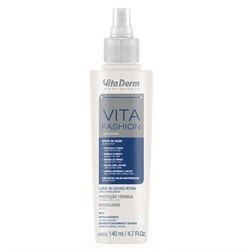 Vita Derm Vita Fashion Leave In Cachos Retain 140ml