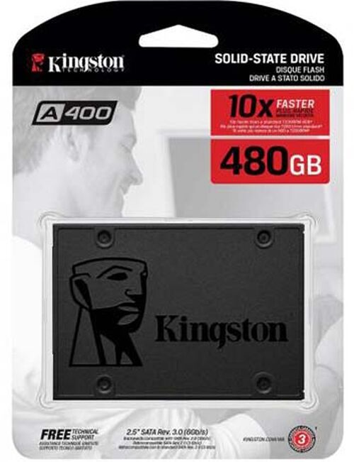 Ssd Kingston 480gb A400 Sata3 2,5 7mm - Sa400s37/480g