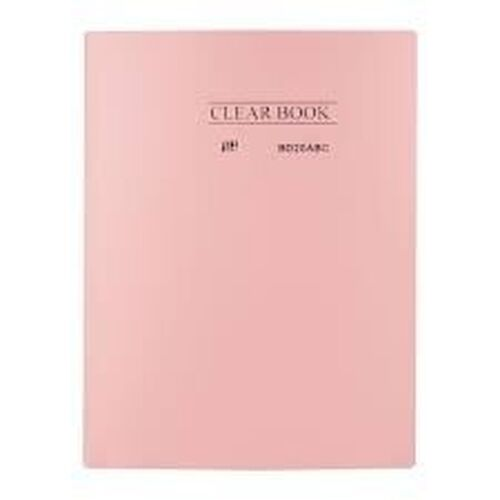 Pasta Catálogo 20 folhas Clear Book tons pastel Yes