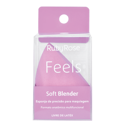 Esponja para Maquiagem Feels Soft Blender HB-S01 - Ruby Rose
