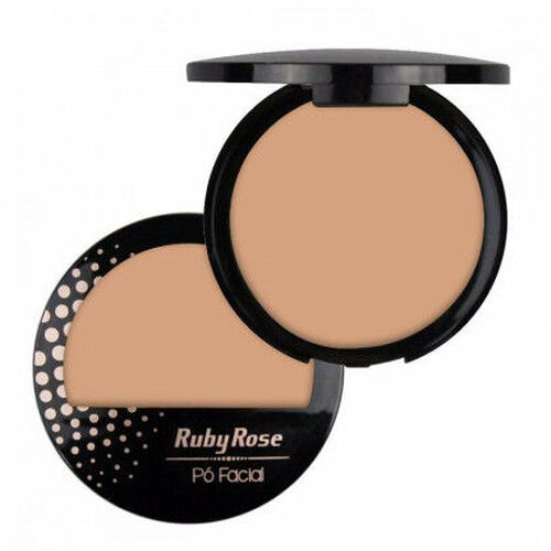 Pó Compacto Facial HB 7212 - Ruby Rose