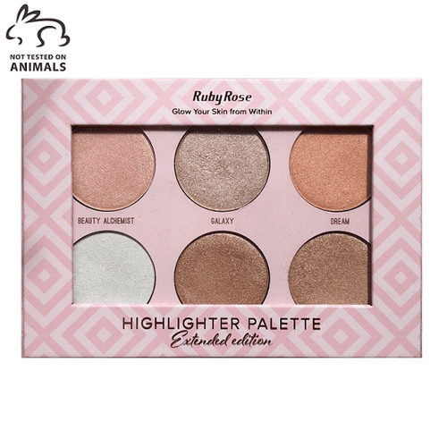 Paleta Highlighter Extended Edition - Ruby Rose