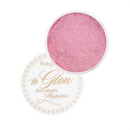Pó Iluminador To Glow Loose Powder - Ruby Rose