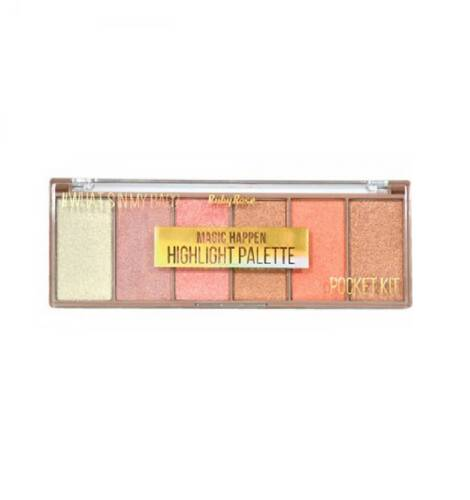 Paleta de Iluminador Magic Happen Ruby Rose HB-7511