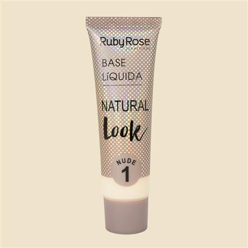 Base Líquida Natural Look Nude HB-8051 - Ruby Rose