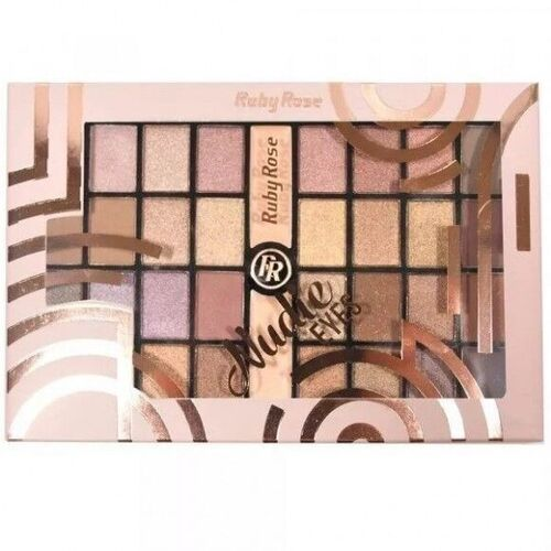 Paleta De Sombras Nudie Eyes - Ruby Rose HB-9976
